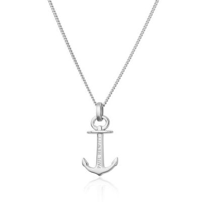 Damen Paul Hewitt Anchor Spirit Halskette Sterling-Silber PH-AN-S