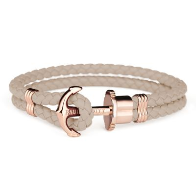 Mens Paul Hewitt Rose Gold Plated Phreps Bracelet PH-PH-L-R-H-L