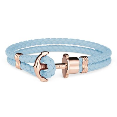 Mens Paul Hewitt Rose Gold Plated Phreps Bracelet PH-PH-L-R-NI-L
