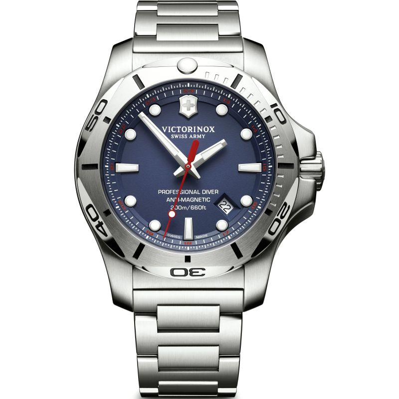 Mens Victorinox Swiss Army I.N.O.X Professional Diver Watch 241782
