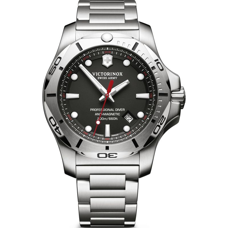Mens Victorinox Swiss Army I.N.O.X Professional Diver Watch 241781