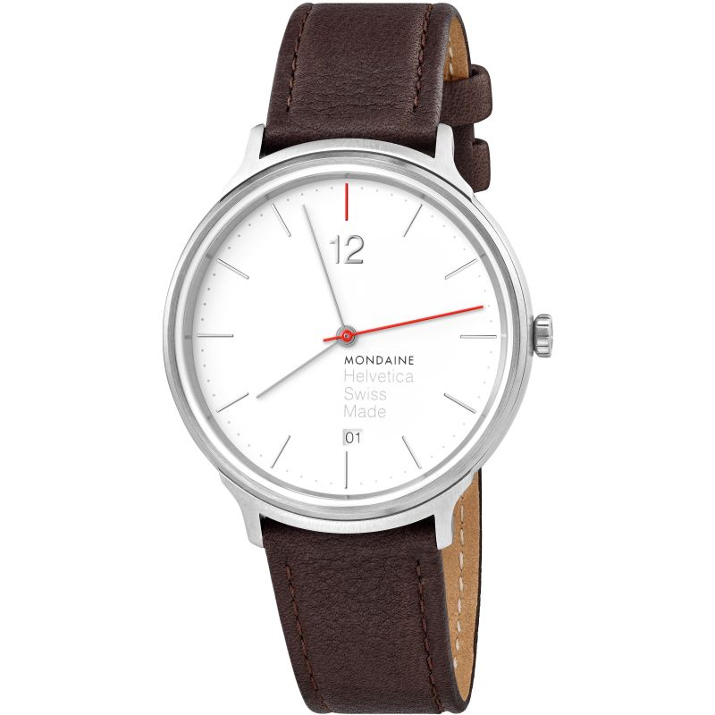 Mens Mondaine Helvetica Light Spiekermann Edition Watch