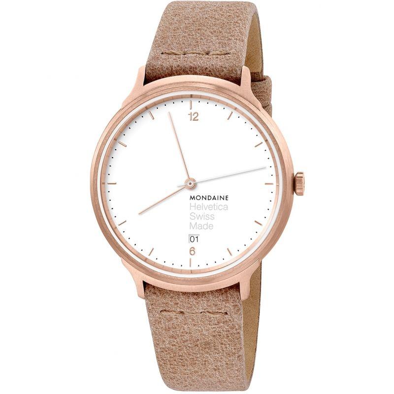 Unisex Mondaine Helvetica No1 Light Watch
