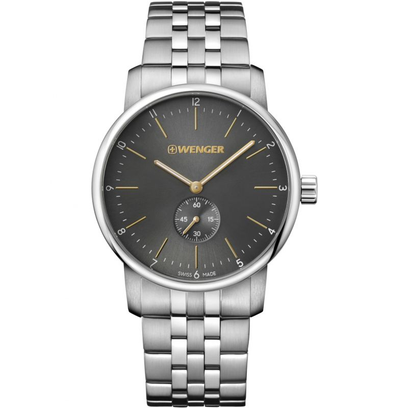Mens Wenger Urban Classic Petite Seconde Watch 011741106