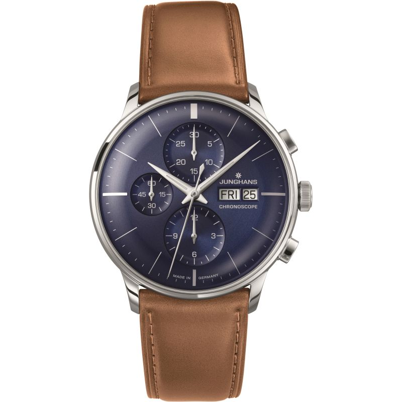Mens Junghans Meister Chronoscope Chronograph Watch 027/4526.01