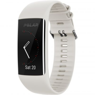 Polar White S A370 Bluetooth GPS HR Activity Tracker Unisexchronograph in Weiß 90064877