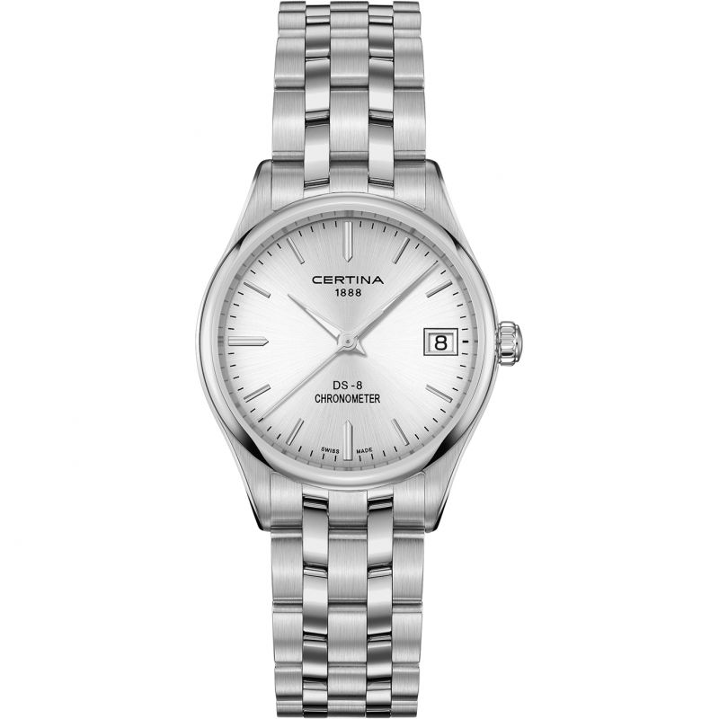 Ladies Certina DS 8 Quartz Chronometer Watch