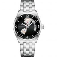 Mens Hamilton Jazzmaster Open Heart Automatic Watch H32705131