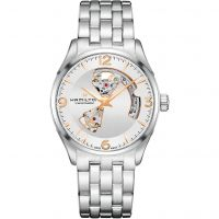 Mens Hamilton Jazzmaster Open Heart Automatic Watch H32705151