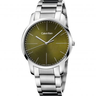 Calvin Klein City Herrenuhr in Silber K2G2G14L