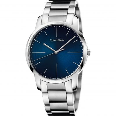 Calvin Klein City Herrenuhr in Silber K2G2G1ZN