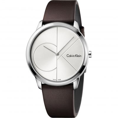 Ladies Calvin Klein Minimal 40mm Watch K3M211G6