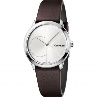 Unisex Calvin Klein Minimal 35mm Watch K3M221G6