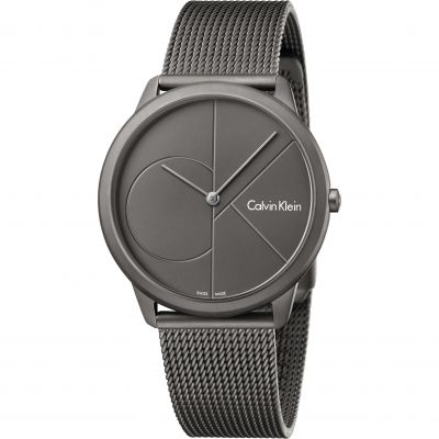 Unisex Calvin Klein Minimal 40mm Watch K3M517P4