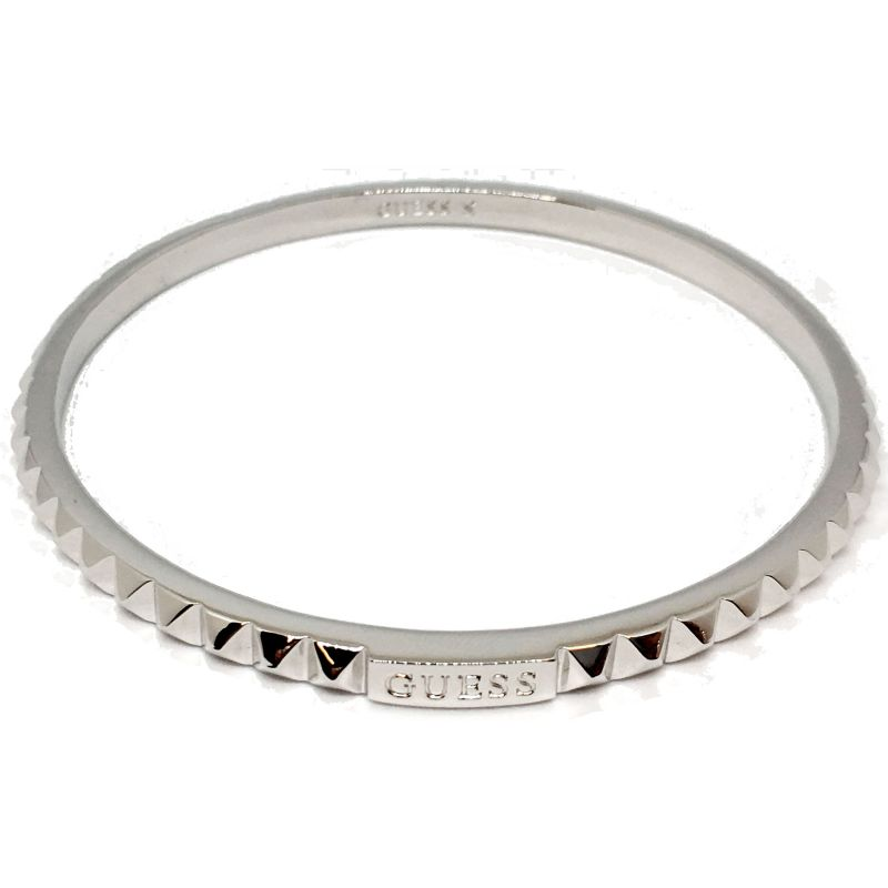 Ladies Guess Silver Plated Hoops I Did It Again Bracelet UBB84060-L
