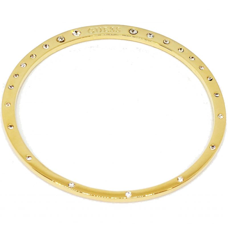 Ladies Guess Gold Plated Hoops I Did It Again Bracelet UBB84073-L