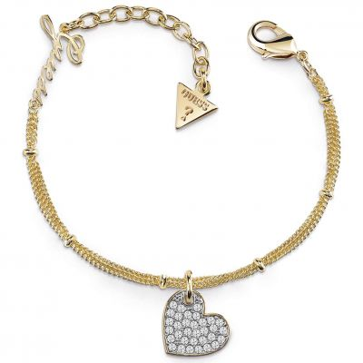 Ladies Guess Gold Plated My Sweetie Bracelet UBB84078-L