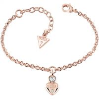 Ladies Guess Guessy Rose Gold Bracelet