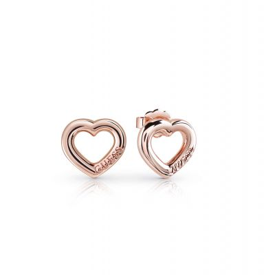 Ladies Guess Grace Rose Gold Earrings