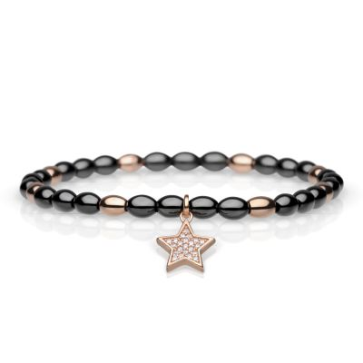 Ladies Bering Rose Gold Plated Bracelet 606-6333-180
