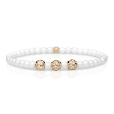Ladies Bering Rose Gold Plated Bracelet 607-5217-180