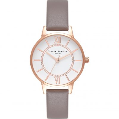 Montre Femme Olivia Burton Wonderland Gold & London Grey OB16WD63