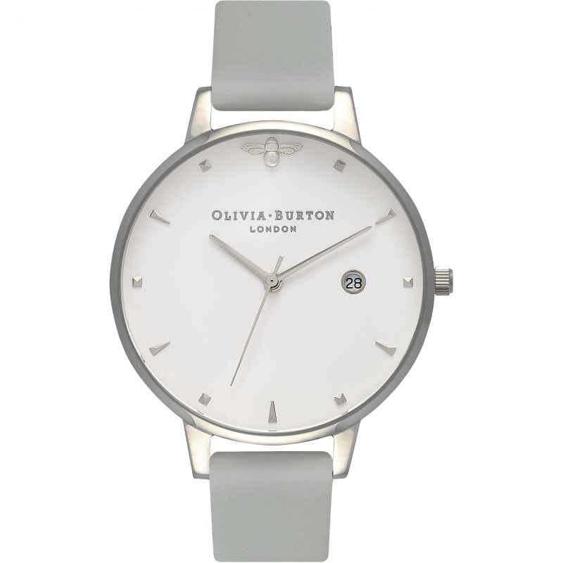 Queen Bee Silver  & Grey Vegan Friendly Watch