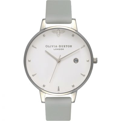 Queen Bee Rose Silver  & Grey Watch