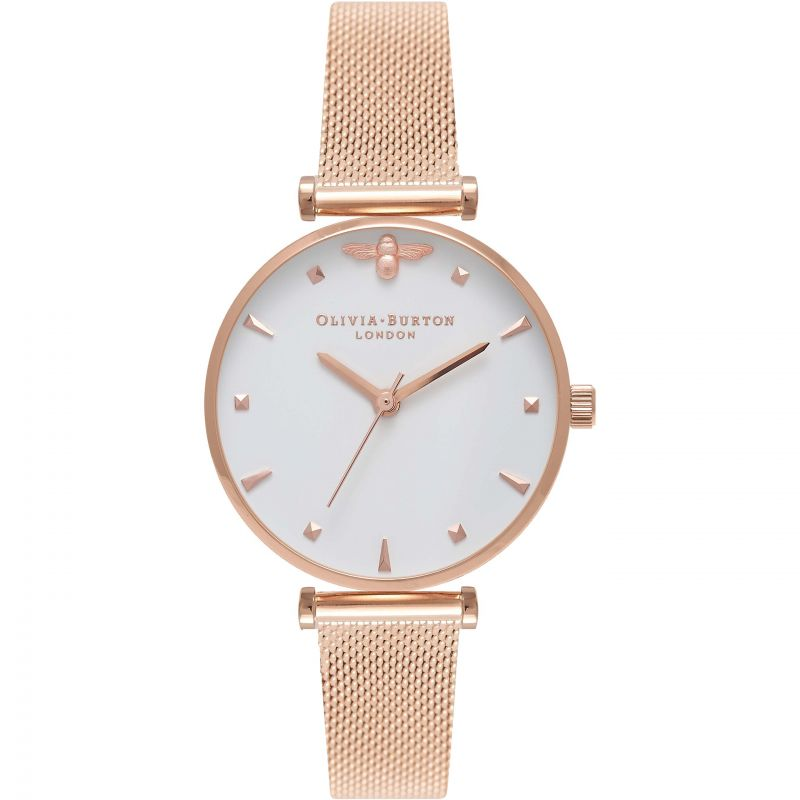 3D Bee Rose Gold  Watch