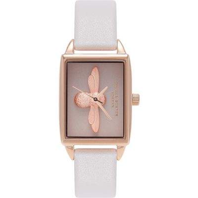 3D Bee Blush Dial Blush & Rose Gold  Watch