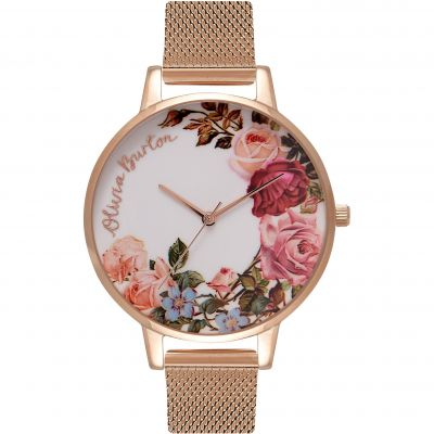 English Garden Gold Mesh   Watch