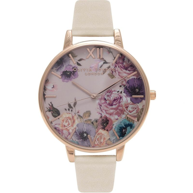 Vegan Friendly Pink Rose Gold & Nude Watch