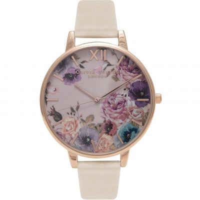 Montre Femme Olivia Burton Vegan Friendly Rose Gold & Nude OB16VE07