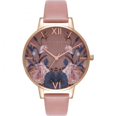 Enchanted Garden Rose Gold & Rose Watch