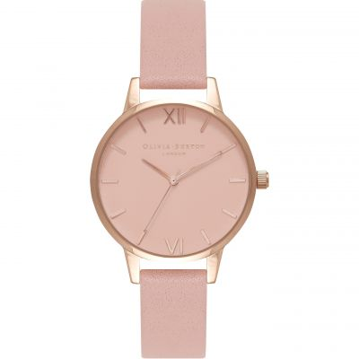 Midi Dial Pink & Rose Gold Watch