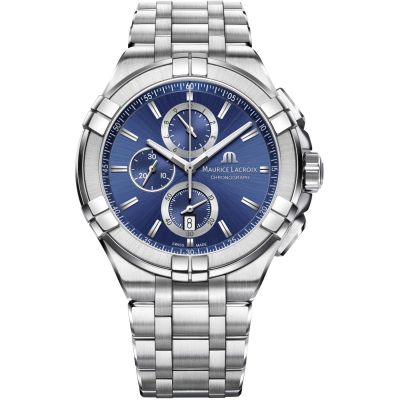 Maurice Lacroix Aikon Herenchronograaf Zilver AI1018-SS002-430-1