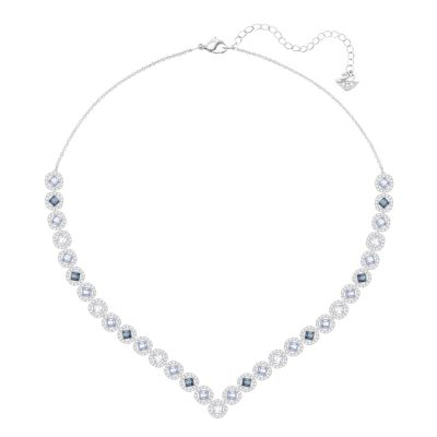 Ladies Swarovski Silver Plated Angelic Necklace 5294621
