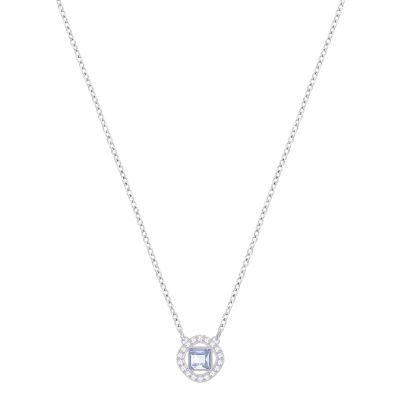 Ladies Swarovski Silver Plated Angelic Necklace 5368147