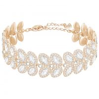 Ladies Swarovski Rose Gold Plated Baron Bracelet 5350618