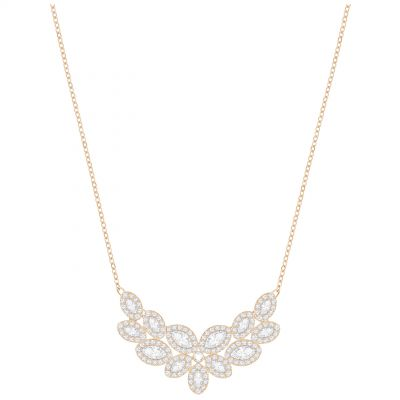 Swarovski Dames Baron Necklace Verguld Rose Goud 5350616