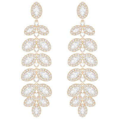 Swarovski Dames Baron Earrings Verguld Rose Goud 5350617