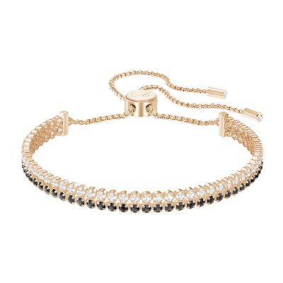 Ladies Swarovski Rose Gold Plated Subtle Bracelet 5352092