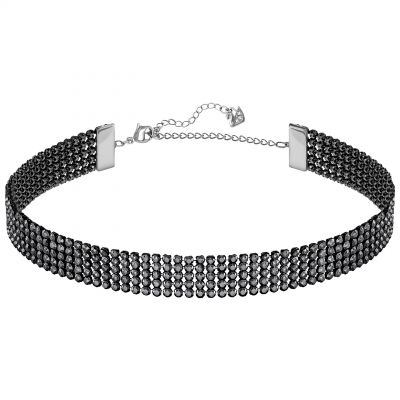 Ladies Swarovski Silver Plated Fit Refresh Necklace 5355185