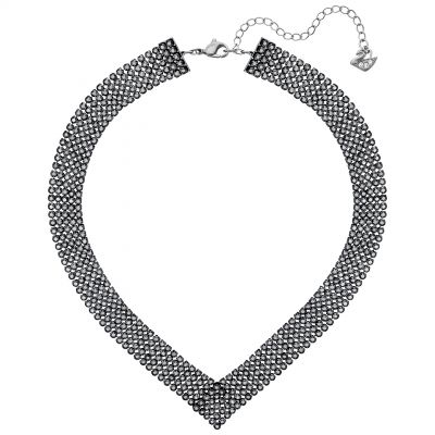Ladies Swarovski Silver Plated Fit Refresh Necklace 5363515