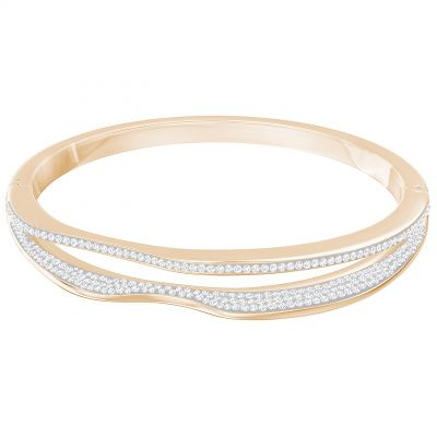 Ladies Swarovski Rose Gold Plated Hilly Bracelet 5350668