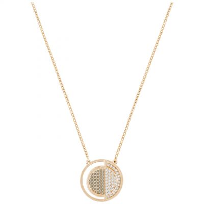 Ladies Swarovski Rose Gold Plated Hillock Necklace 5351082