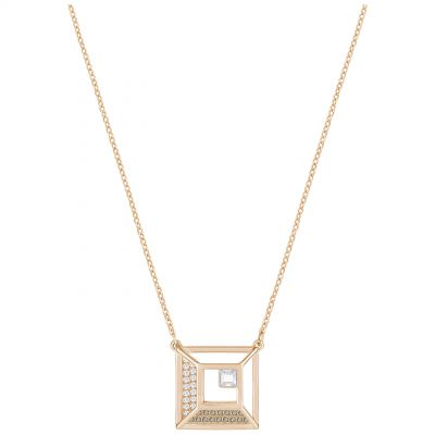 Ladies Swarovski Rose Gold Plated Hillock Necklace 5351080
