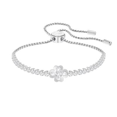 Ladies Swarovski Silver Plated Subtle Bracelet 5349629
