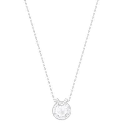 Ladies Swarovski Silver Plated Bella Necklace 5370193