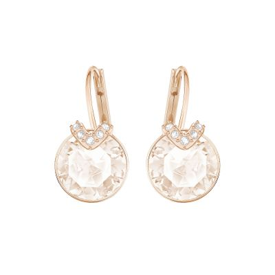 Ladies Swarovski Gold Plated Bella Earrings 5299318